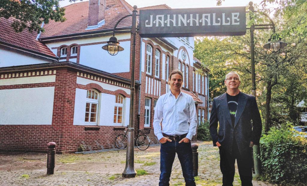Sven Lüdke & Stefan Yeti Jaedtke: Leitung des Kulturzentrum Jahnhalle